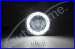 Vauxhall Astra G H Corsa D VXR SRI Zafira Tigra LED DRL Angel Eye Fog Light Kit