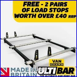 Vauxhall Astra Van/Estate (Sportive) Roof Rack 2008+ With Rails 3 Bar ULTI Bar