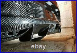 Vauxhall Opel Astra H VXR OPC rear Carbon Diffuser