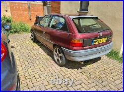 Vauxhall astra mk3 c20let
