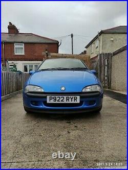 Vauxhall tigra A MK1 1.4 manual rare Arden blue not NOVA CORSA CAVALIER ASTRA